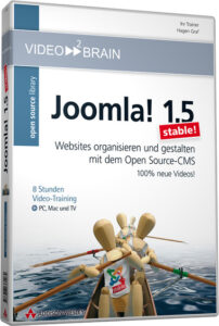 "DVD-Cover von ""Joomal! 1.5 stable\"" von video2brain"