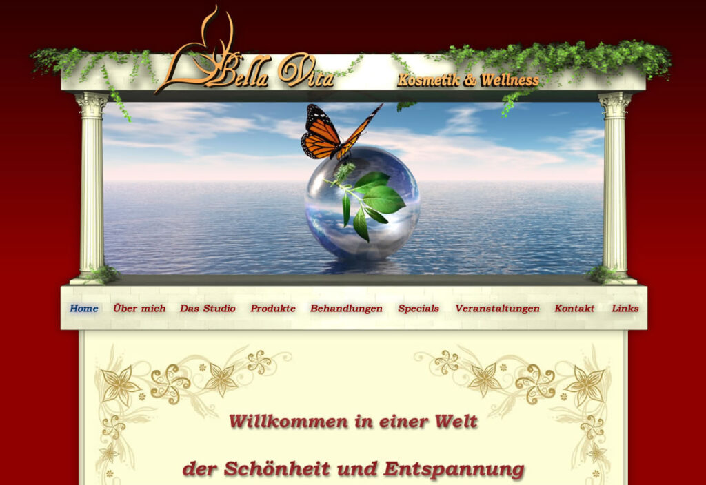"Screenshot ""kosmetik-bellavita.de"