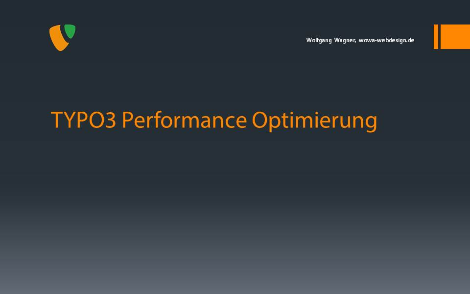 TYPO3 Performance Optimierung