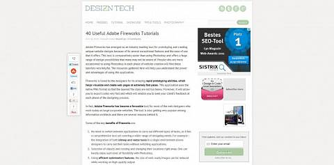 40 Useful Adobe Fireworks Tutorials