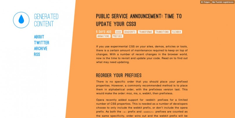 Public service announcement  time to update your CSS3   Generated Content by David Storey